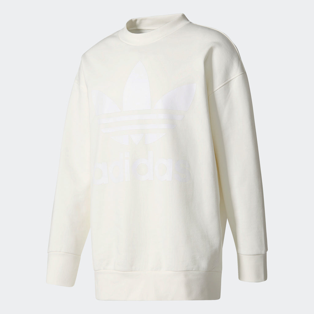 Men's adidas Originals Crewneck Sweatshirt Off White