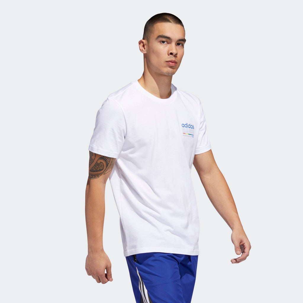 Men's adidas Originals Dodson Tee White