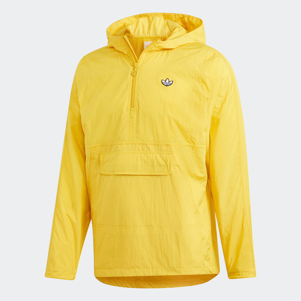 Men's adidas Originals Lightweight Pullover Jacket Tribe Yellow