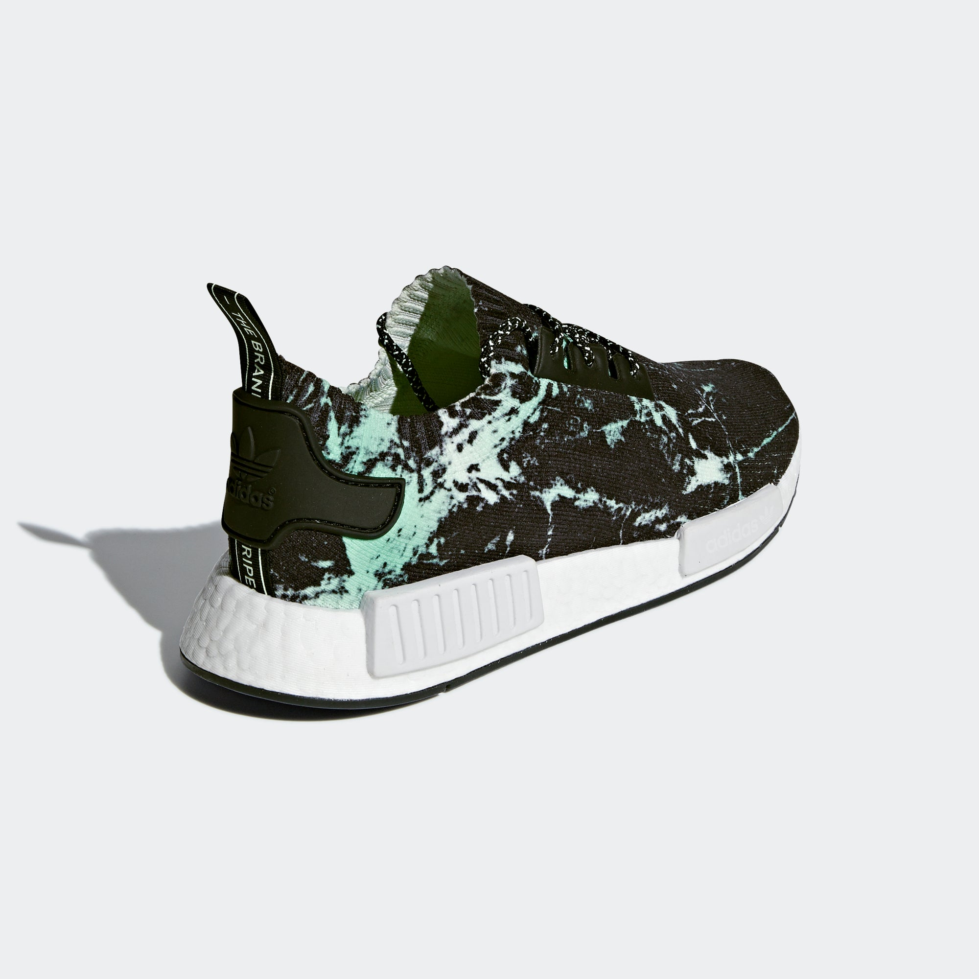 adidas NMD_R1 Primeknit Shoes Green Marble BB7996 | Chicago City ...