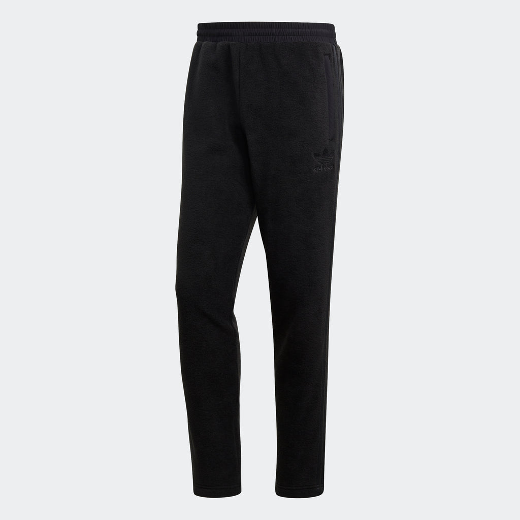 Men's adidas Originals Polar Fleece Track Pants Black