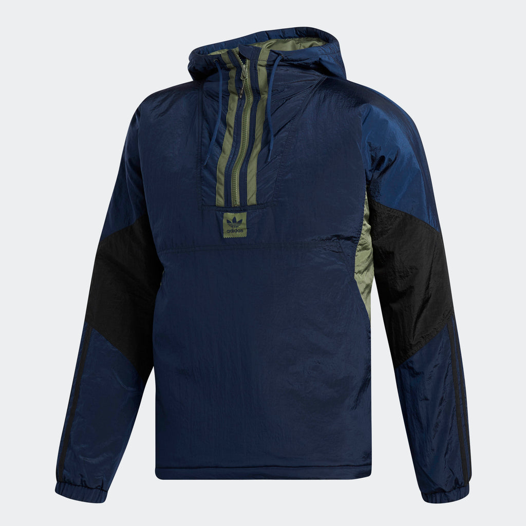 Men's adidas Originals Puffy Anorak Jacket Collegiate Navy