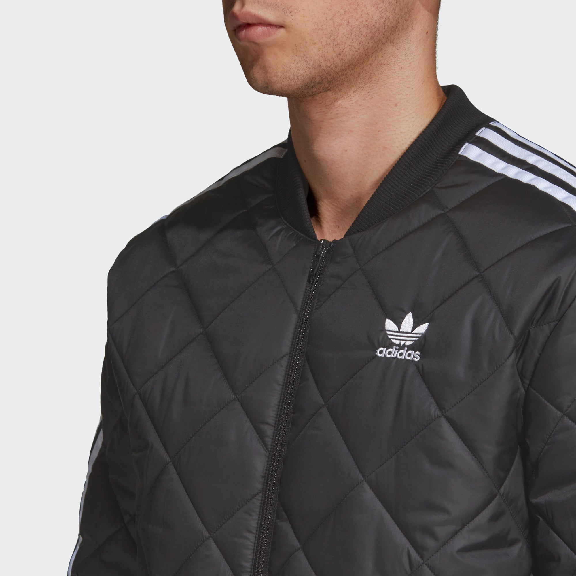 adidas Quilted SST Jacket DV2302 | Chicago City Sports