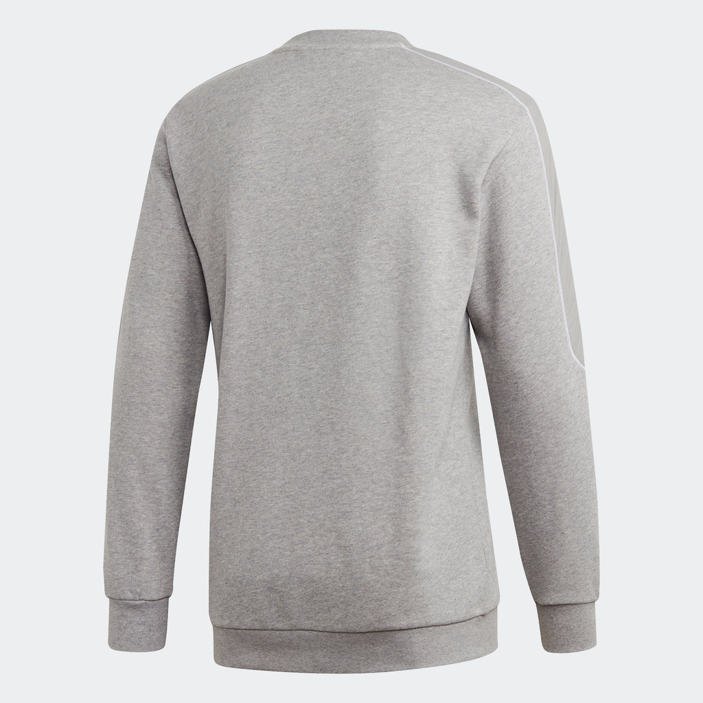 Men's adidas Originals Radkin Crewneck Sweatshirt Grey
