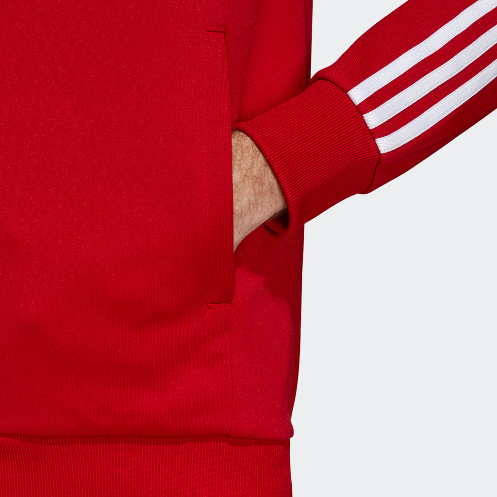 Men's adidas Originals SST Track Jacket Power Red