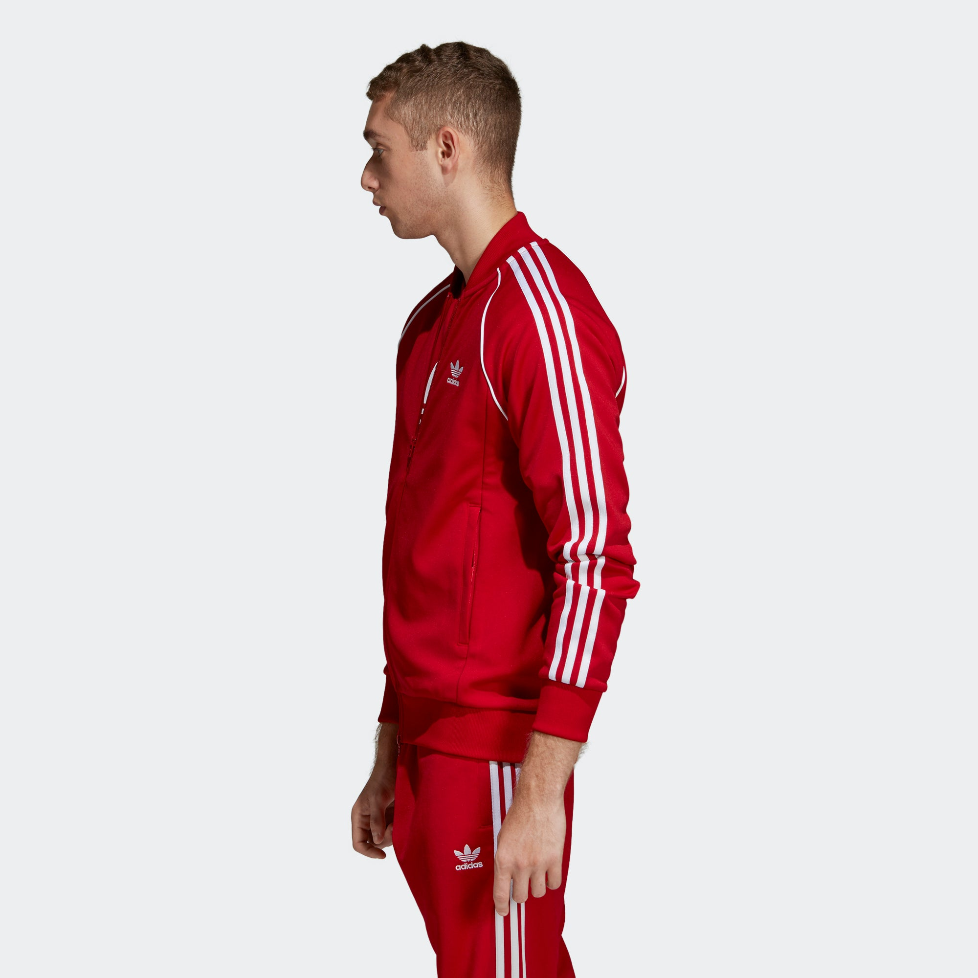 SST Track Jacket Red Mens | Products in 2019 | Adidas