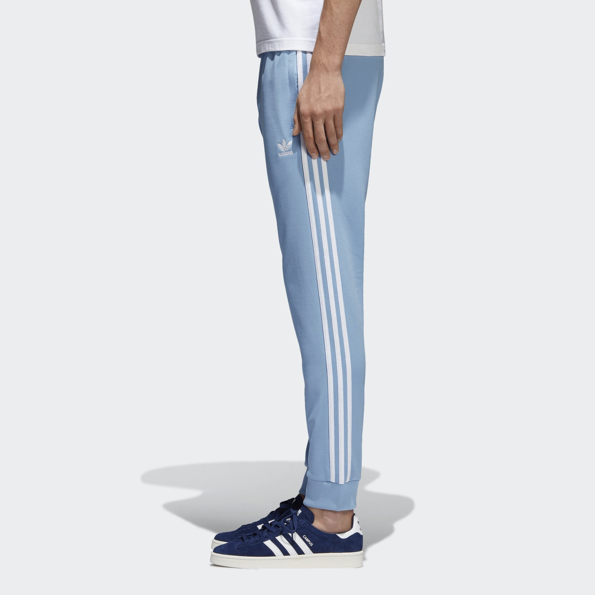 bd3f928be4a0 Men s adidas Originals SST Track Pants Ash Blue. 1