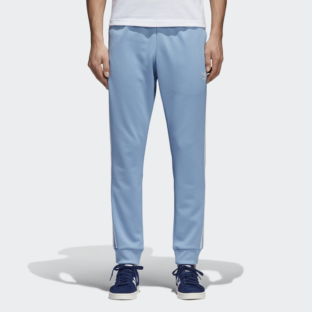 Men's adidas Originals SST Track Pants Ash Blue