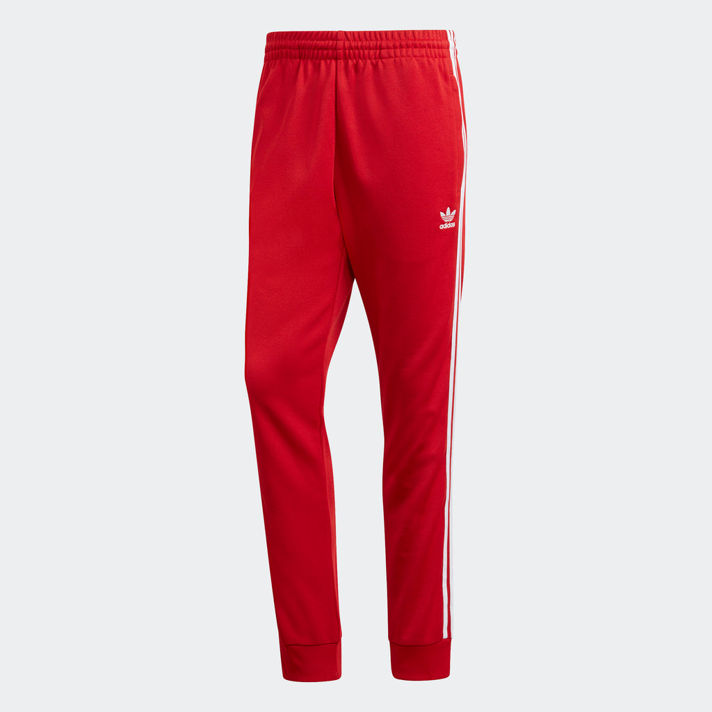 Men's adidas Originals SST Track Pants Power Red
