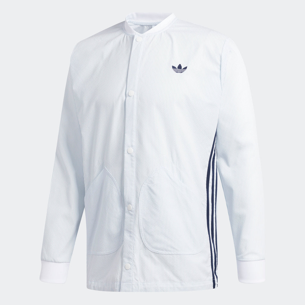 Men's adidas Originals Seersucker Coach Jacket