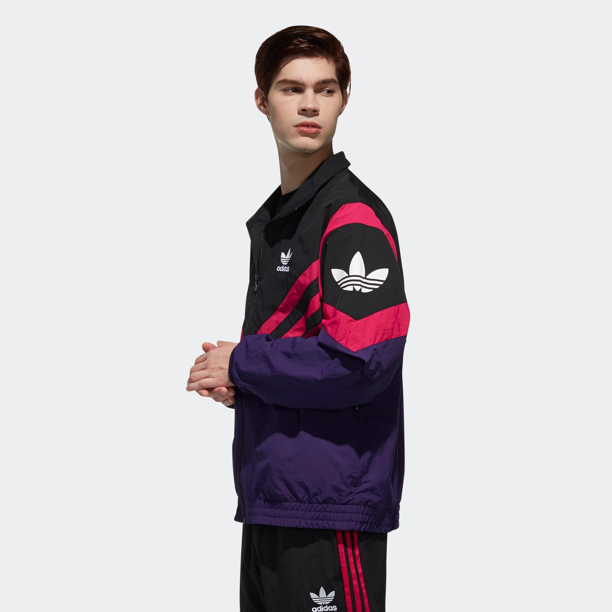 sale retailer hot product sale usa online adidas Sportive Track Jacket Dark Purple EJ0948 | Chicago ...