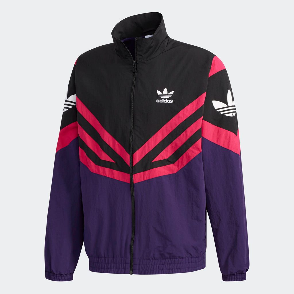 Men's adidas Originals Sportive Track Jacket Dark Purple