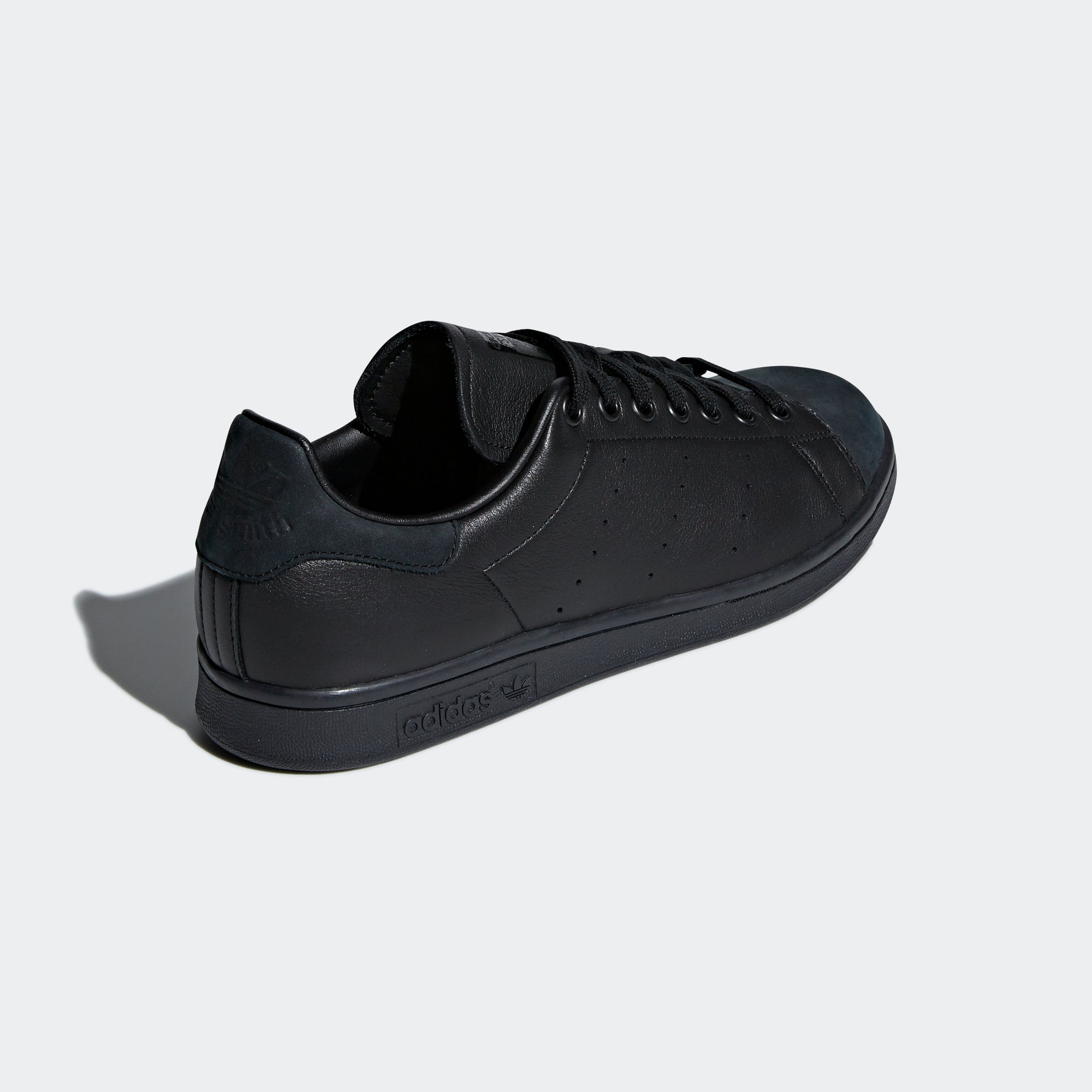best service 4e823 fafd5 adidas Stan Smith Shoes Triple Black B37922 | Chicago City ...