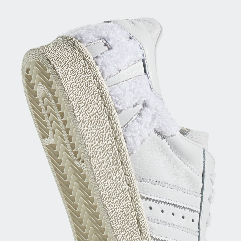 Men's adidas Originals Superstar 80s Shoes Crystal White