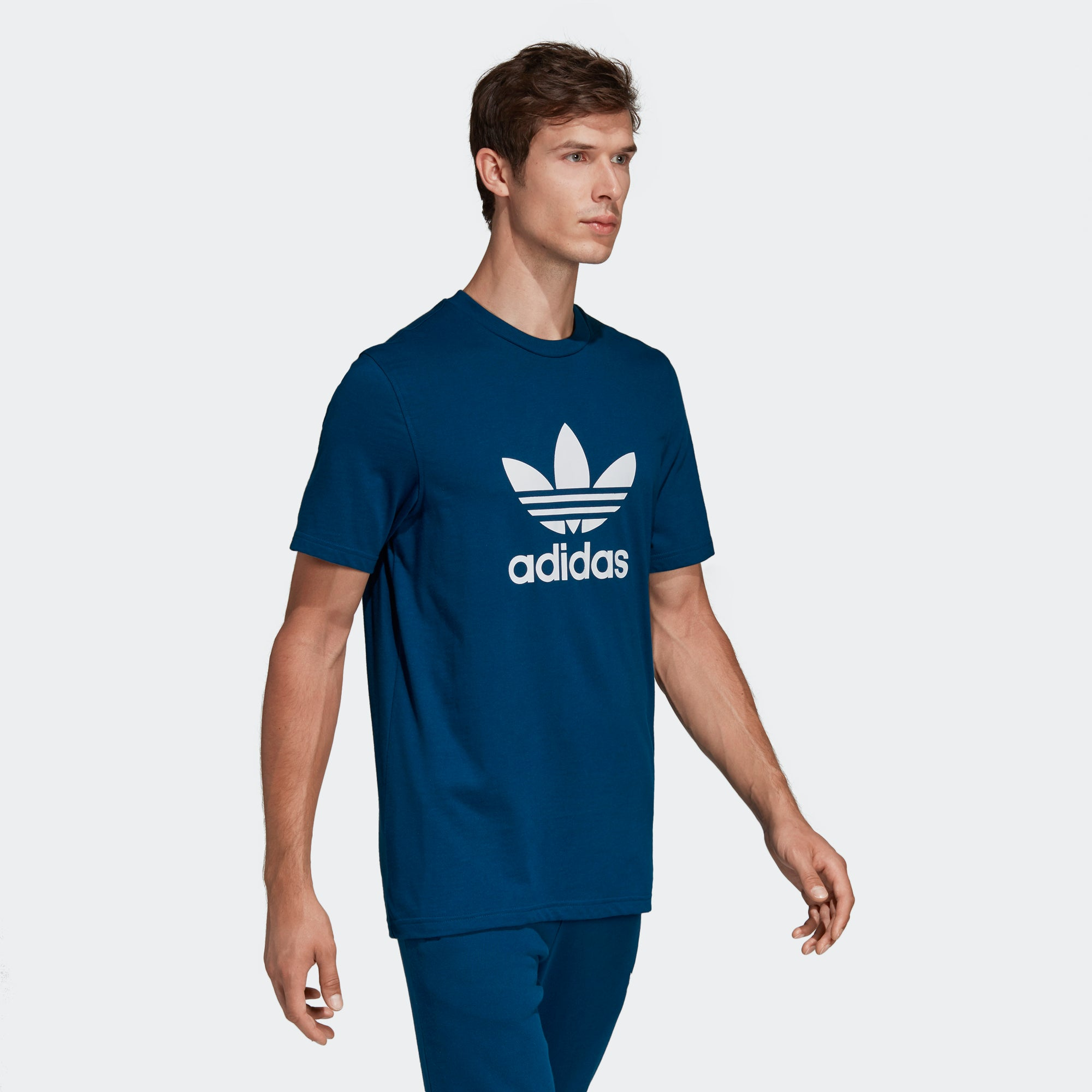 adidas Trefoil Tee Legend Marine DV1603 | Chicago City Sports
