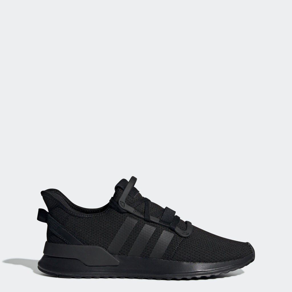 Men's adidas Originals U_Path Run Shoes Triple Black