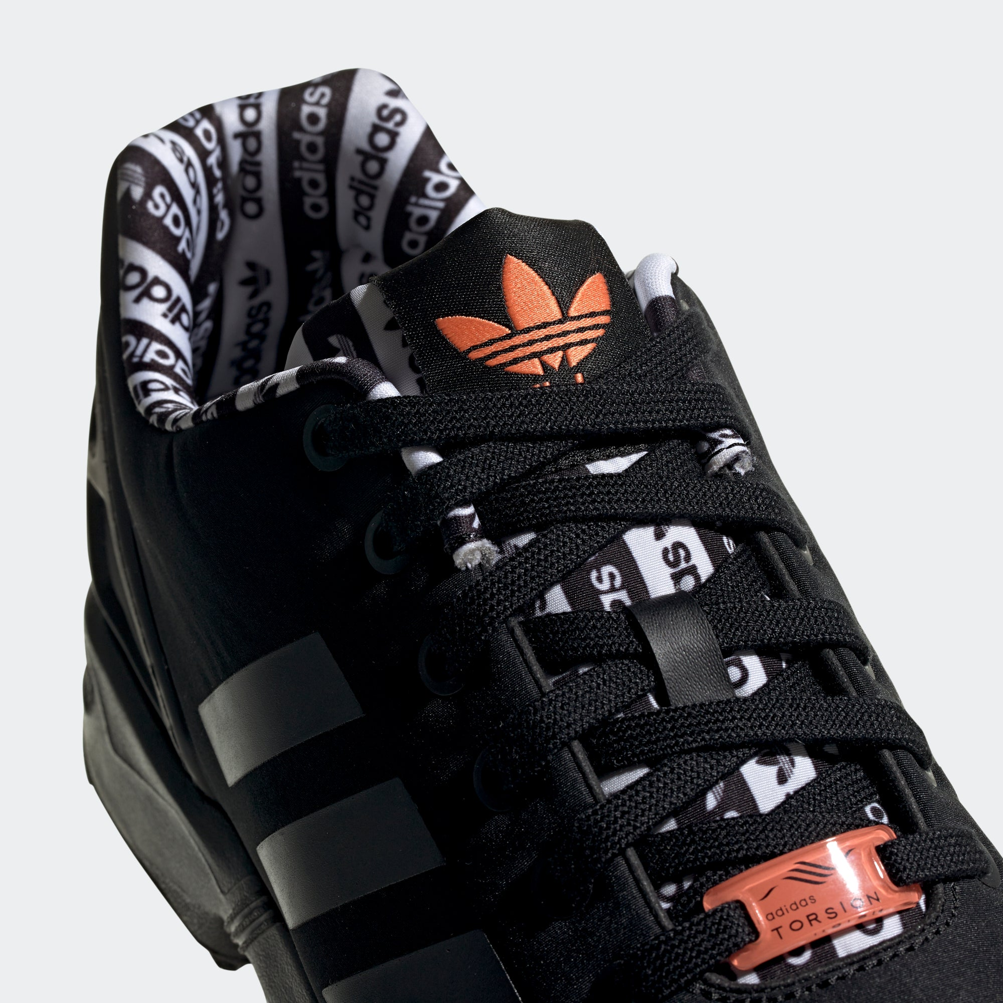 adidas ZX Flux Shoes Black | Chicago City Sports