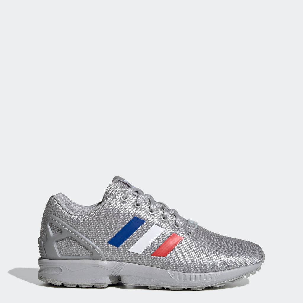 Men's adidas Originals ZX Flux Shoes Grey