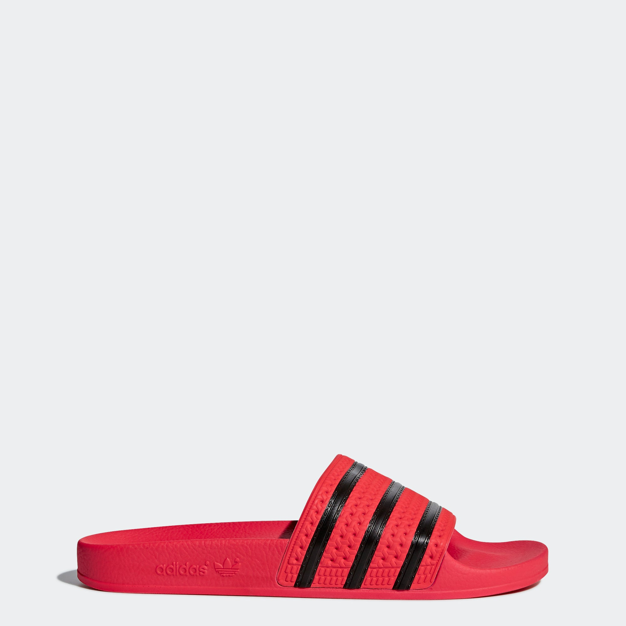 0a77a2428 Men s adidas Originals adilette Slides Real Coral Red – Chicago City ...