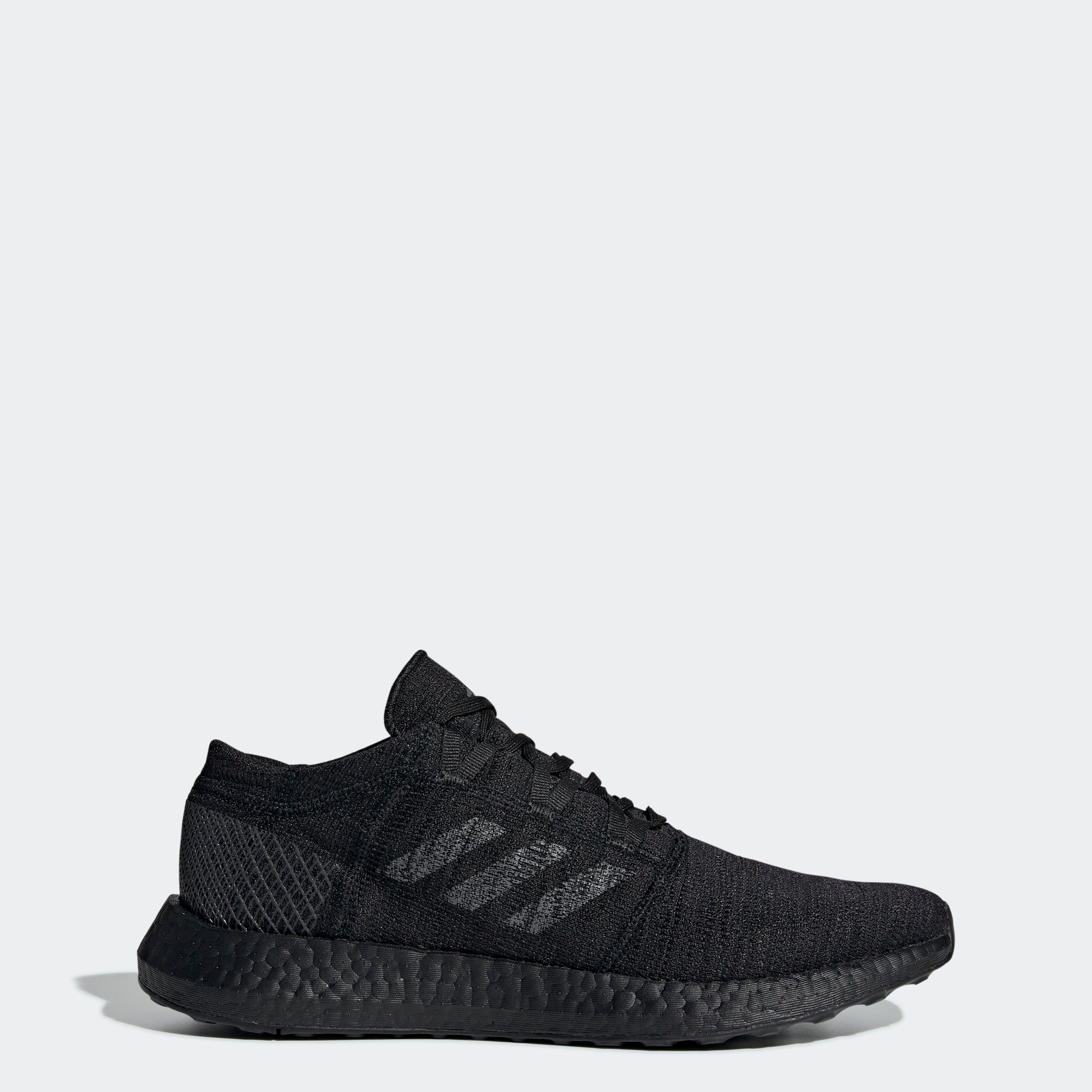 f326a1f528dd2 Men s adidas Running PureBOOST Go Shoes Black Grey