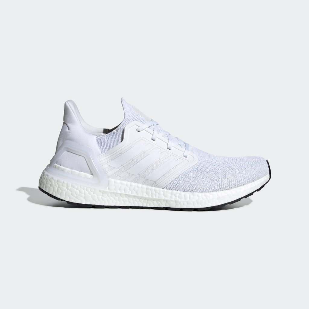Men's adidas Running Ultraboost 20 Shoes Cloud White