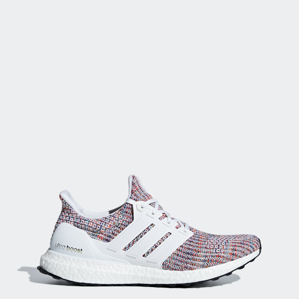 Men's adidas Running Ultraboost Shoes White Multicolor
