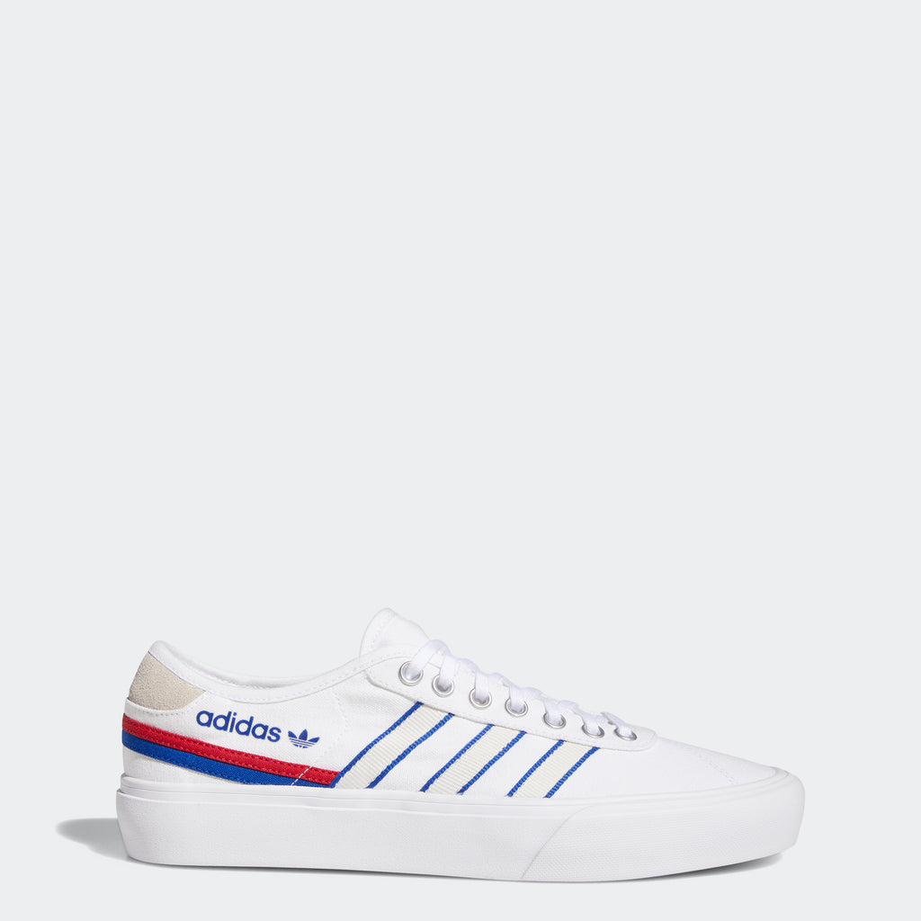 Men's adidas Delpala Shoes White FV0639 | Chicago City Sports | side view