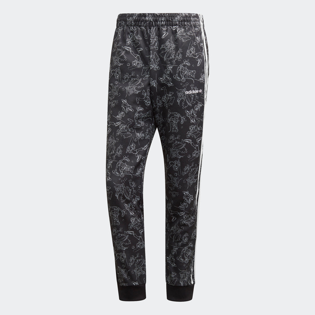 Men's adidas Originals Goofy SST Track Pants Black