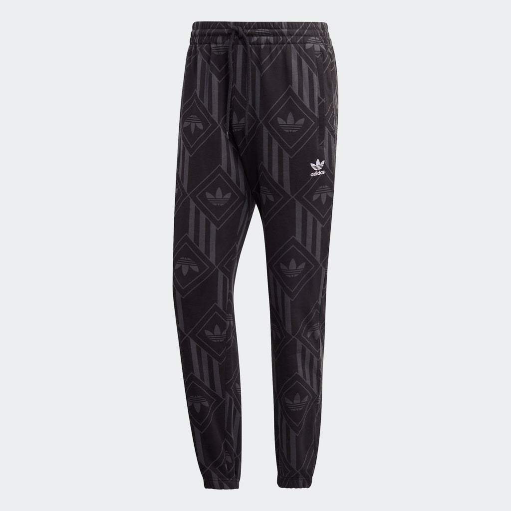 Men's adidas Originals Monogram Sweatpants Black
