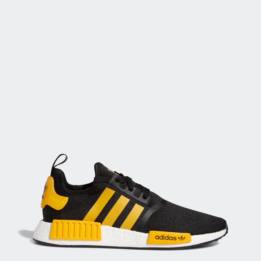 Men's adidas Originals NMD_R1 Shoes Black Active Gold