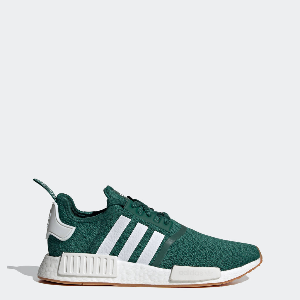 adidas Originals NMD_R1 Shoes Green FX6788 | Chicago City Sports | side view