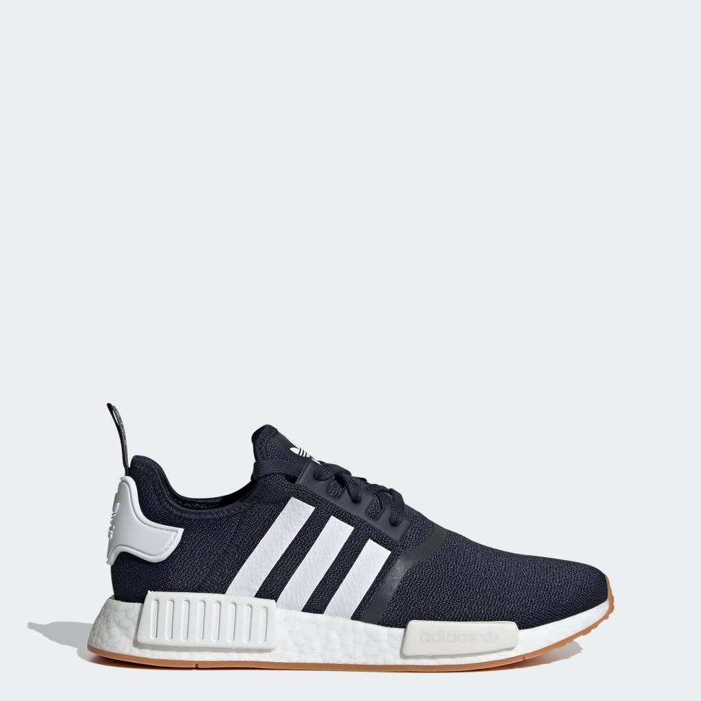adidas Originals NMD_R1 Shoes Navy G55574 | Chicago City Sports | side view