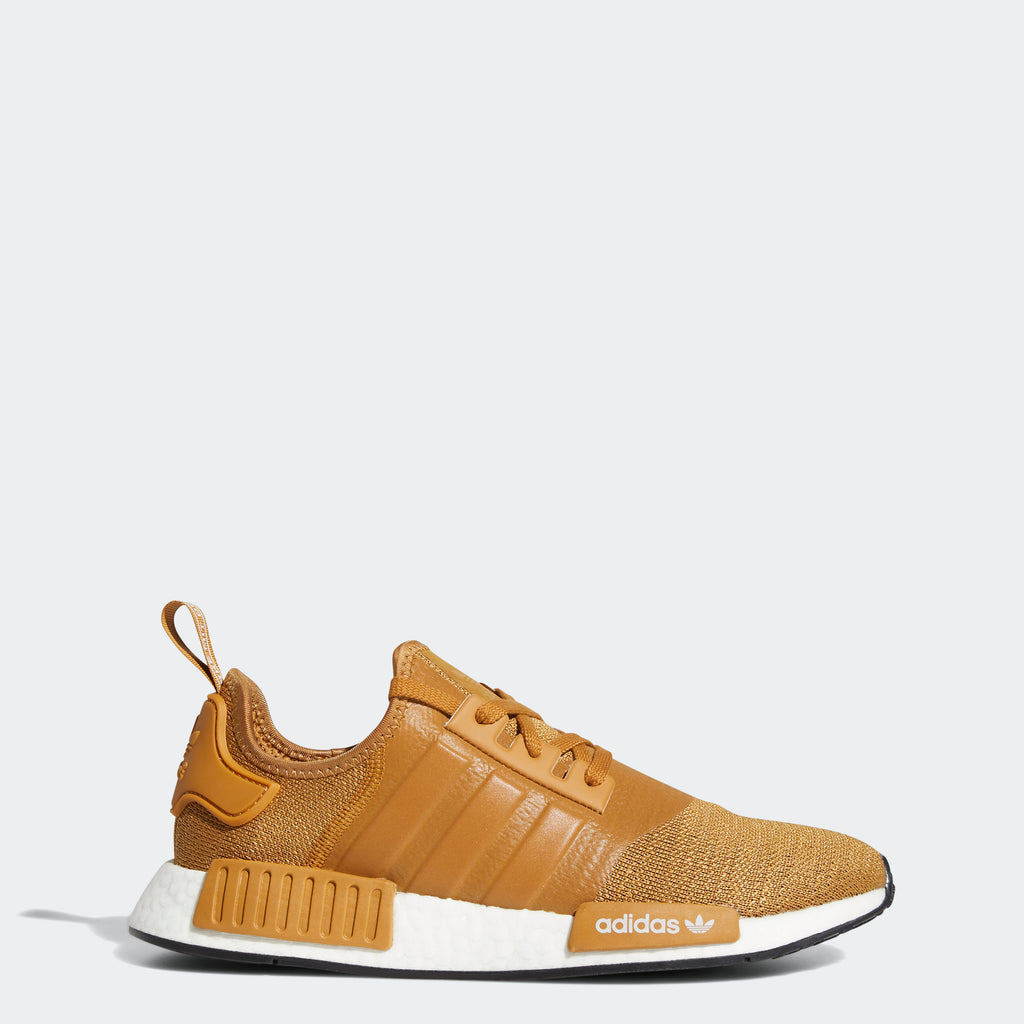 adidas Originals NMD_R1 Shoes Mesa Brown H01917 | Chicago City Sports | side view