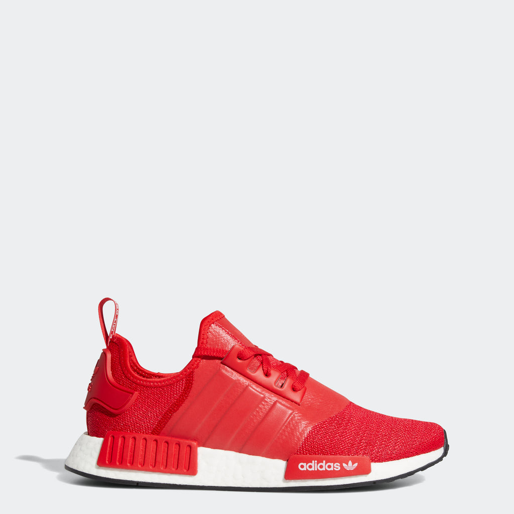adidas Originals NMD_R1 Shoes Scarlet Red H01916 | Chicago City Sports | side view