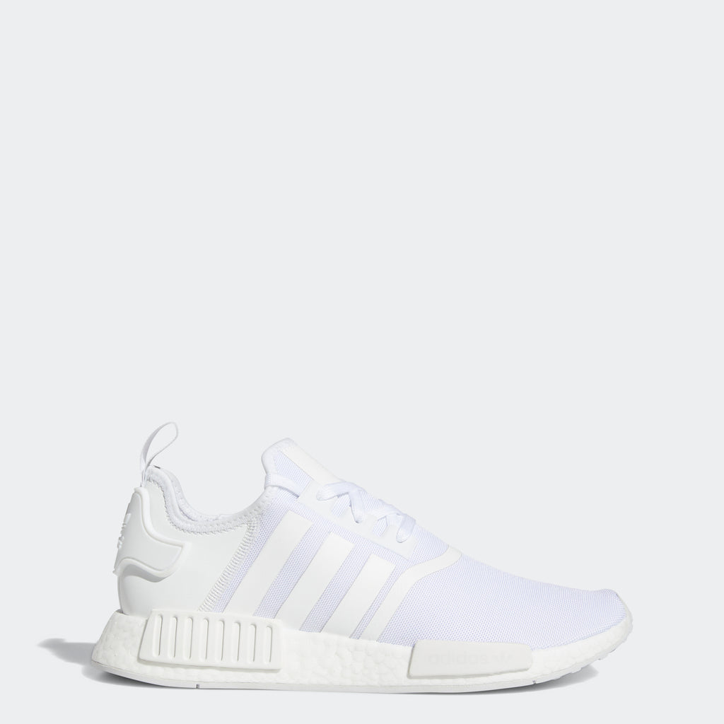 Men's adidas Originals NMD_R1 Shoes Triple White