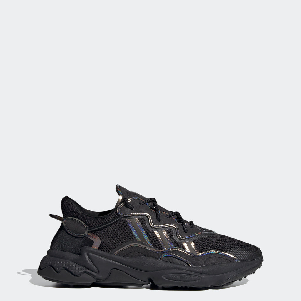 Men's adidas Ozweego Shoes Black SKU FV9653 | Chicago City Sports | side view