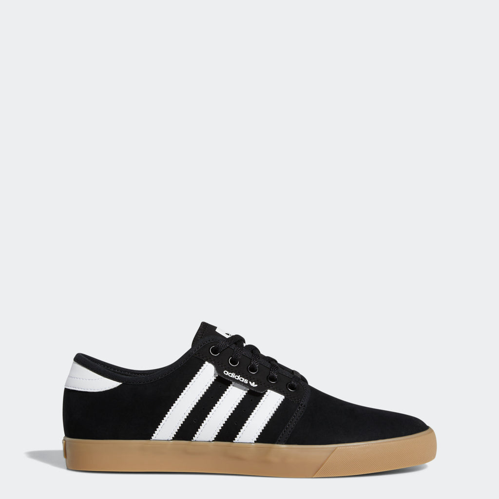 Men's adidas Originals Seeley Shoes Black Gum