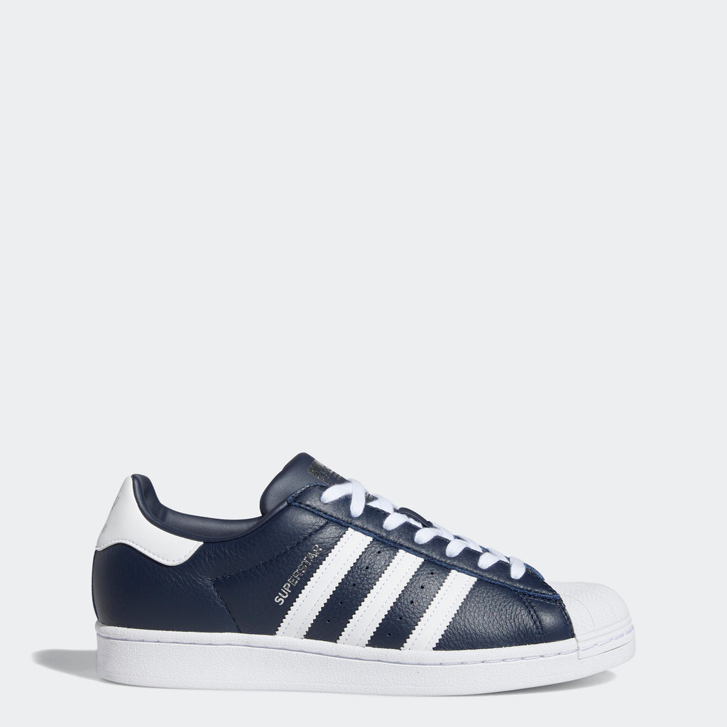 Men's adidas Originals Superstar Shoes Collegiate Navy FY5864 | Chicago City Sports | side view