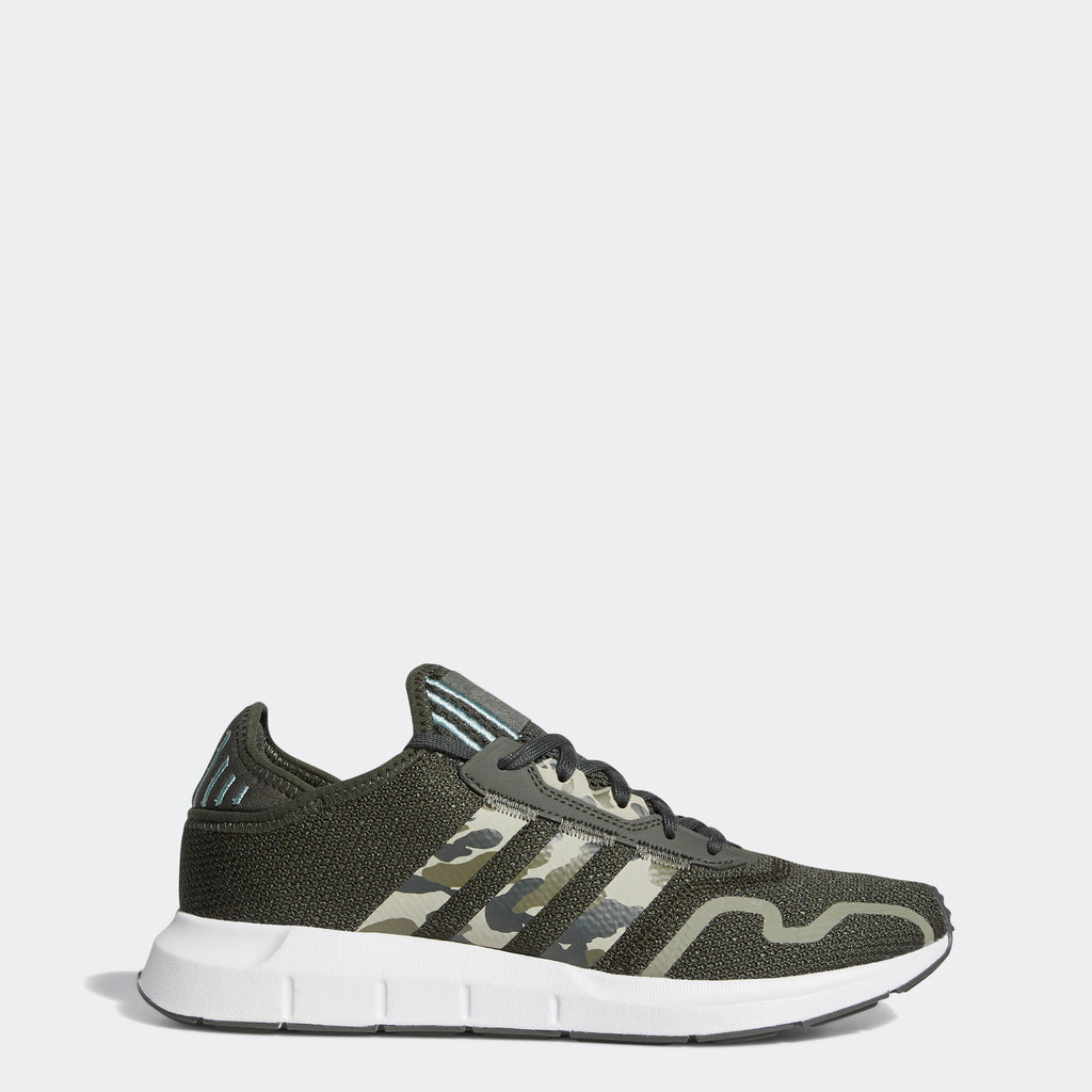Men's adidas Swift Run X Shoes Legend Earth FY2131 | Chicago City Sports | side view