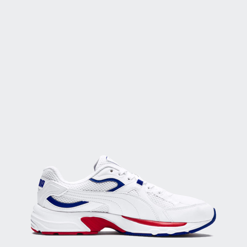 Men's PUMA Axis Plus 90s Trainers White