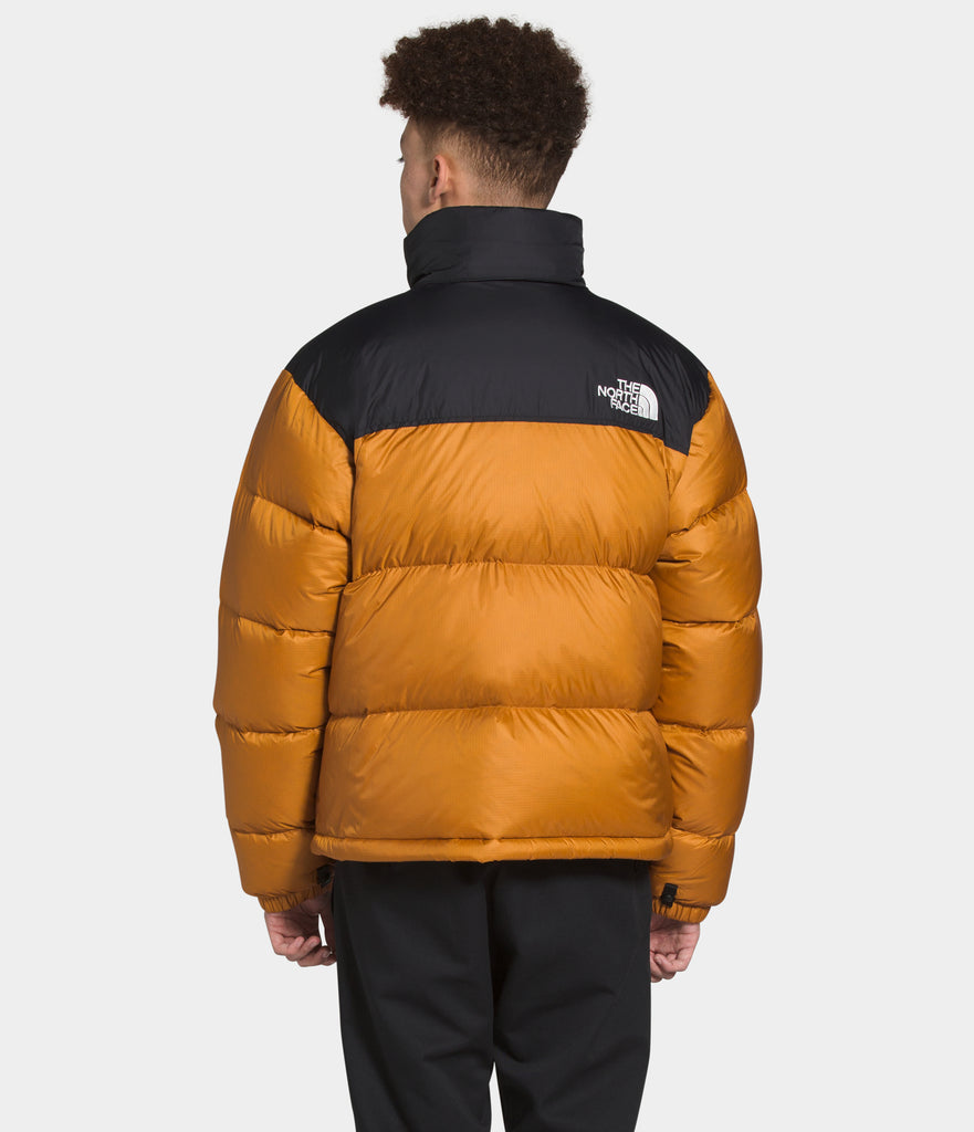 North Face 1996 Retro Nuptse Jacket Timber Tan | Chicago City Sports | rear view