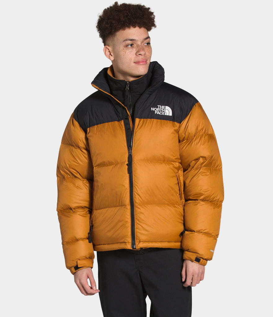 North Face 1996 Retro Nuptse Jacket Timber Tan | Chicago City Sports | on model view