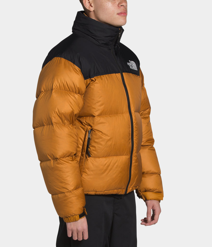 North Face 1996 Retro Nuptse Jacket Timber Tan | Chicago City Sports | side view