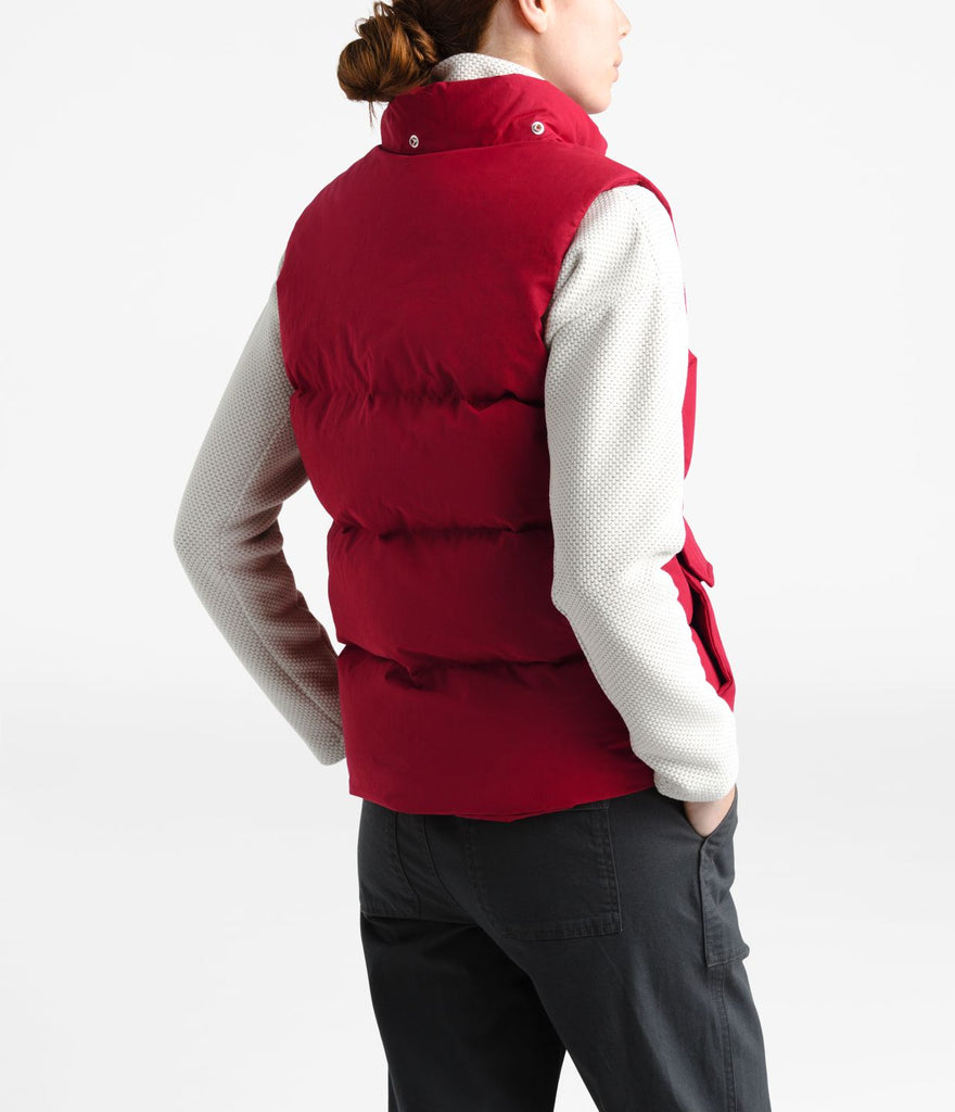 Women's The North Face Down Sierra Vest Cardinal Red