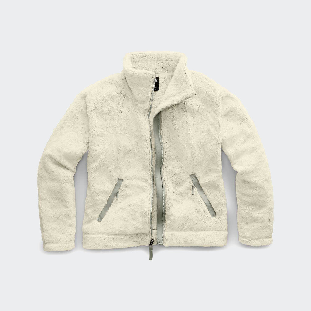Women's The North Face Furry Fleece 2.0 Jacket Vintage White
