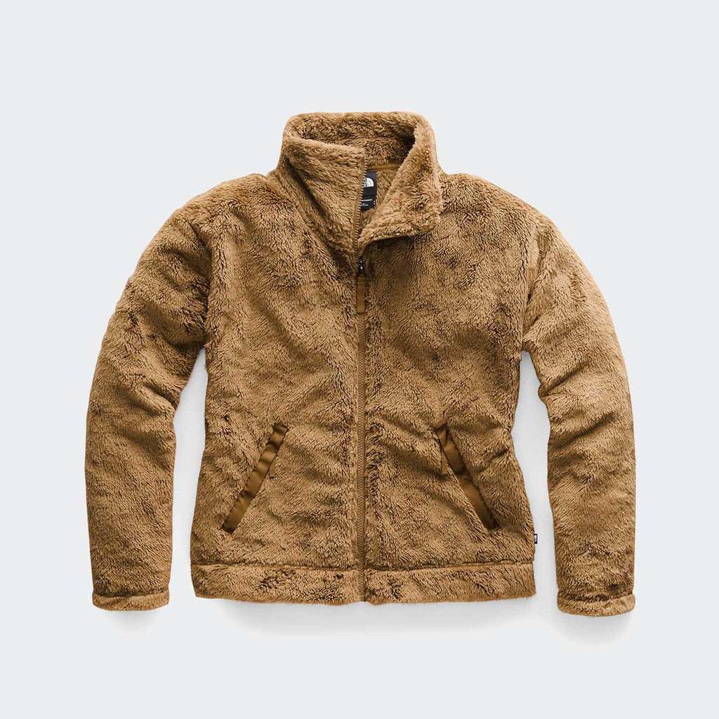 Women's The North Face Furry Fleece 2.0 Jacket Cedar Brown