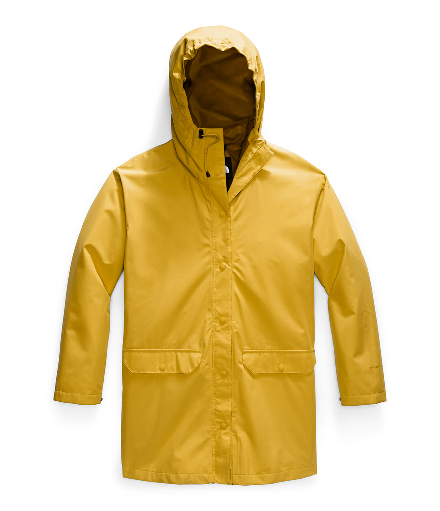 Women's The North Face Woodmont Rain Jacket Yellow