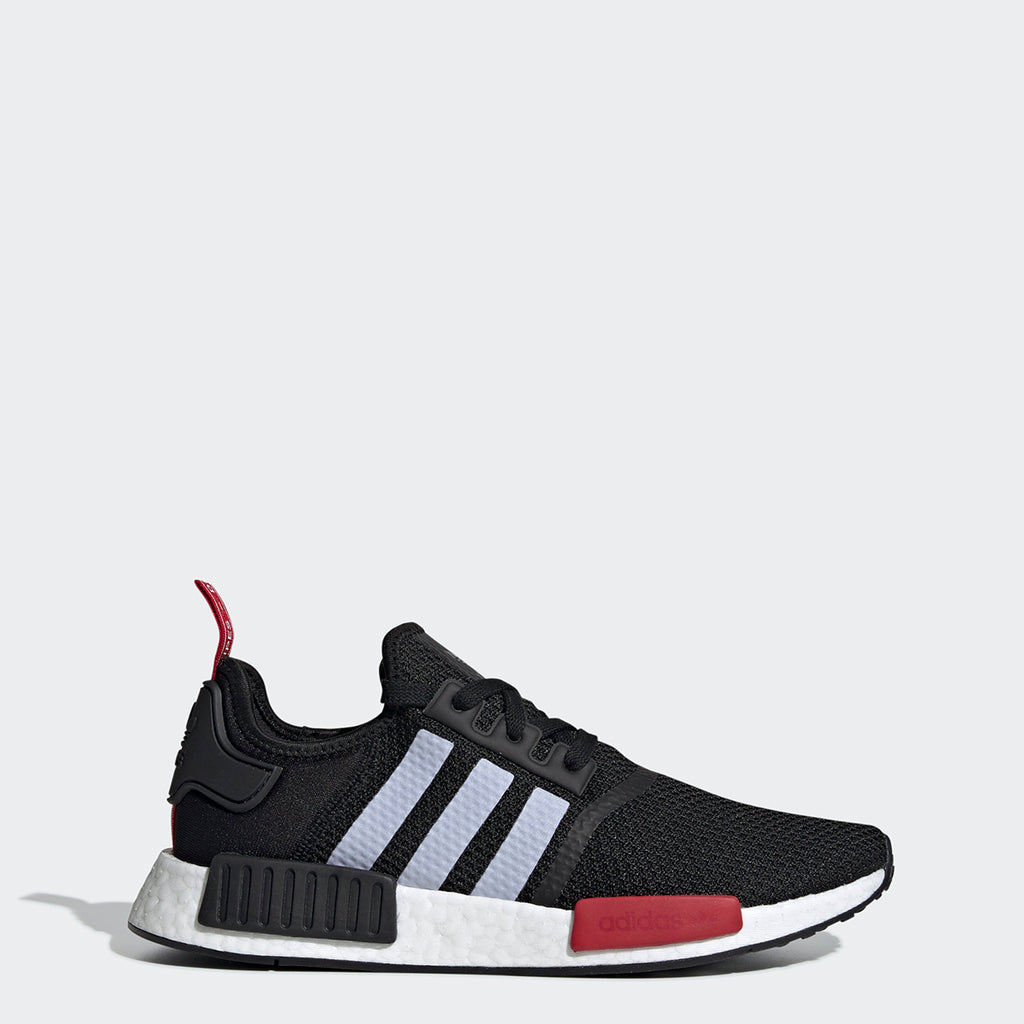 Men's adidas Originals NMD_R1 Shoes Black Red
