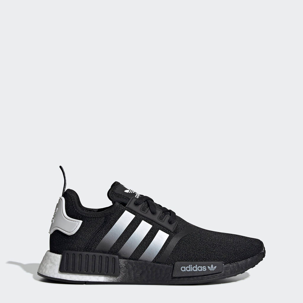 Men's adidas Originals NMD_R1 Shoes Black Ombre