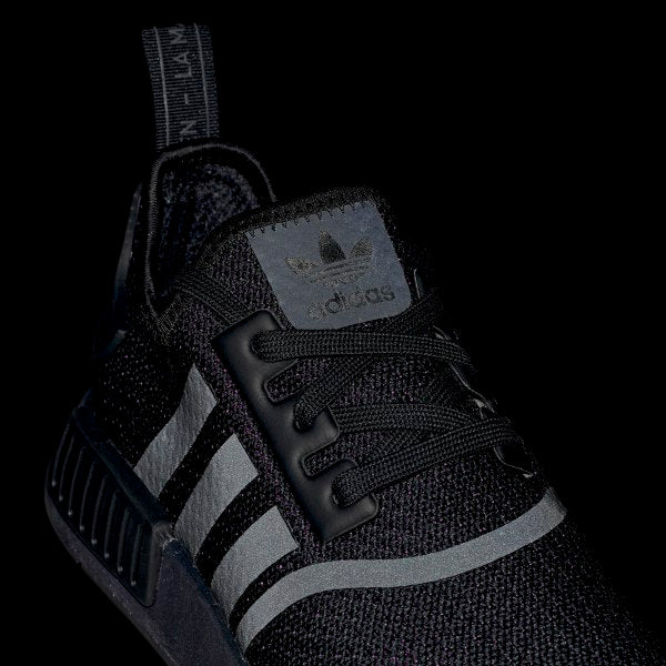 Adidas Nmd R1 Shoes Black Chicago City Sports